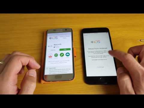 Transfer Data From Android Phone To IPhone 7 & 7 Plus- Contacts, Gmails, Messages, Photos, Videos,