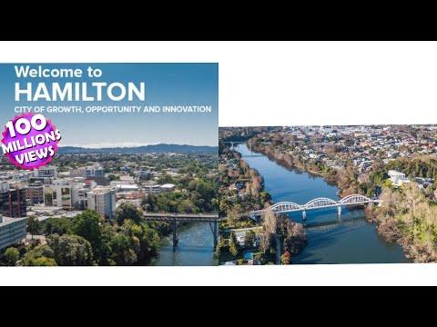 Hamilton City New Zealand