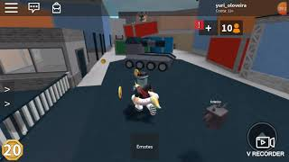 I was a good (SHERIF) at ROBLOX
