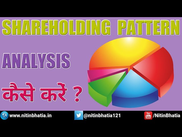 Shareholding Pattern - How to do the Analysis?