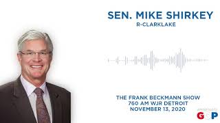 Sen. Shirkey joins the Frank Beckmann Show to talk elections, COVID-19