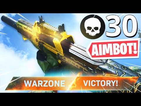 The ZERO RECOIL P90 SETUP In WARZONE! INSANE P90 WARZONE NUKE!! (Modern Warfare Warzone)