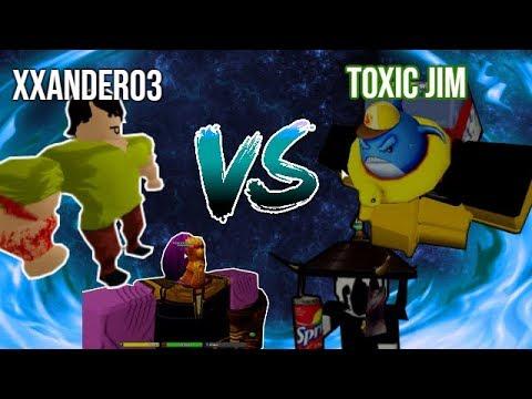 Da Hood Roblox : XXander03 Vs. ToxicJim ( 2 VS 2 )