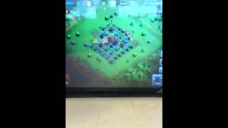 My Clash of Clans base/village