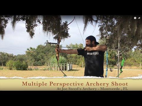 Left Handed Samick Sage Recurve Target Archery Shoot