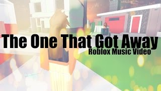 the One That Got Away - Katy Perry (ROBLOX VIDEO musicale)