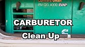 The best way to clean a RV Generator engine (shows Onan in