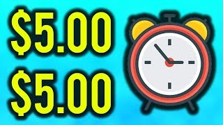 Earn $5.00 EVERY 10 Minutes NOW! (Using this FREE Software!)