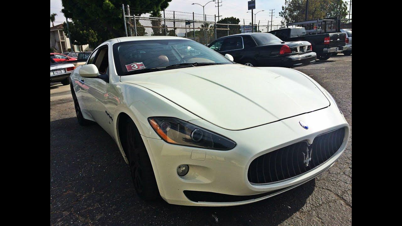 Maserati Granturismo Headliner Replacement Youtube
