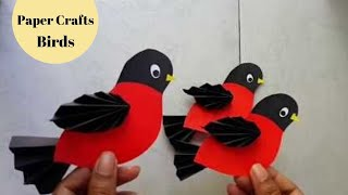 DIY Easy Paper Bird Making | Craft for Kids | Aloha Crafts