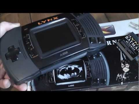 Faulty Atari Lynx Handheld - Retro Console Repair - Games Not Loading
