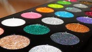 Cómo armar tu paleta de Glitter