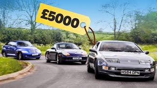 £5000 American Vs Euro Vs JDM Sports Car Challenge: Part 2