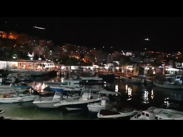 Amazing View at Night - Saranda