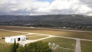 Mistral Air B737-300 Take off - Mostar International Airport