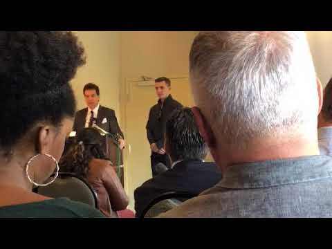Jacob Wohl & Jack Burkman press conference on the alleged Mueller victim (Right version)