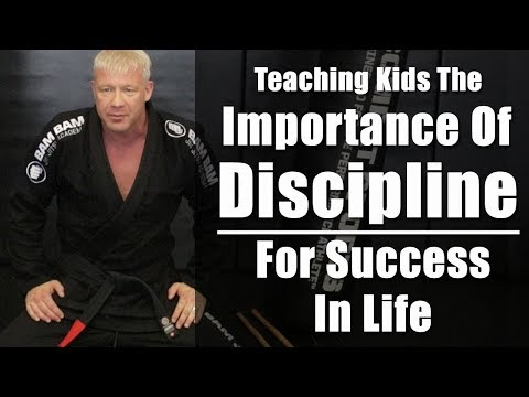 Teaching Kids The Importance of Discipline For Success In Life