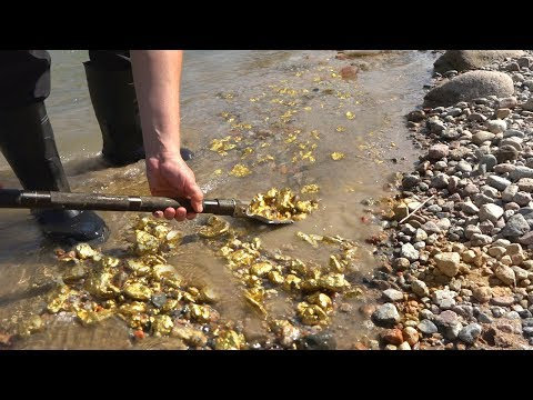 These gold riches may be close by the city. (River Treasure)