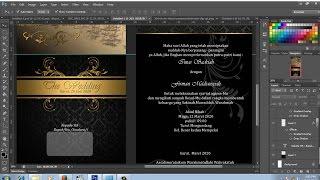 cara desain sendiri surat undangan pernikahan