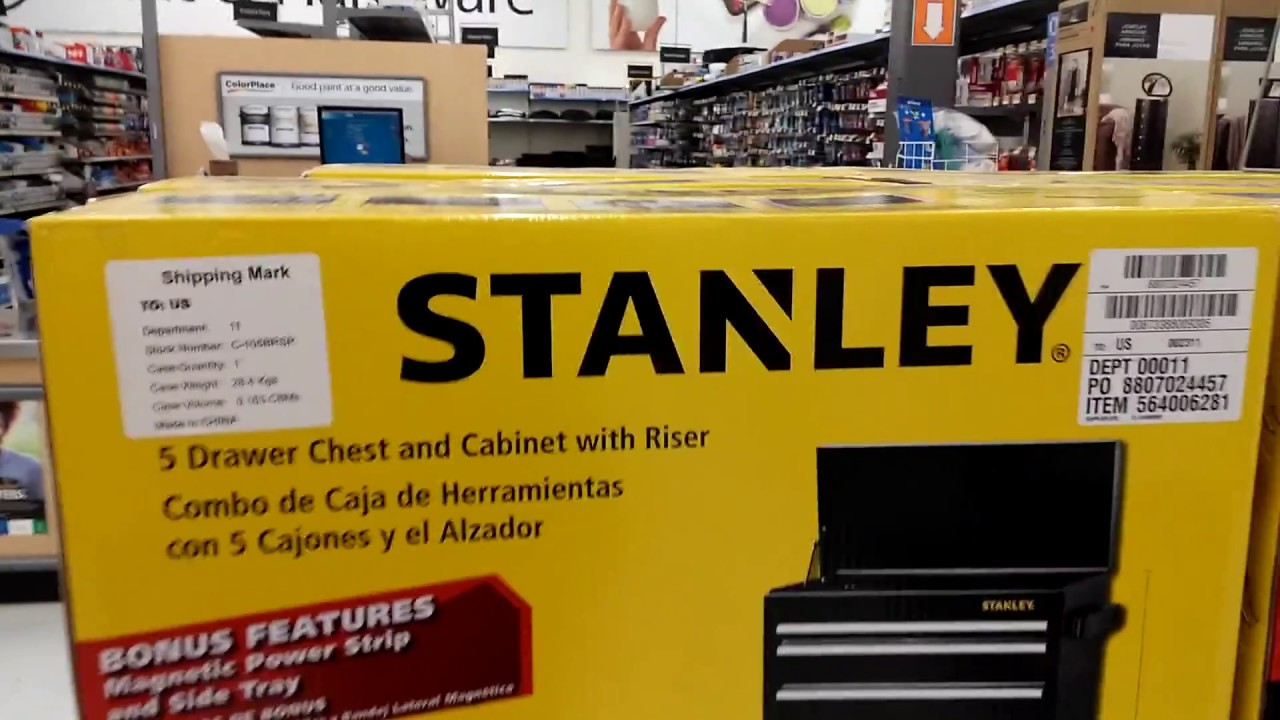 Stanley Toolbox At Walmart 2017