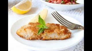 как вкусно пожарить РЫБНОЕ ФИЛЕ на сковороде? — просто и быстро👍 Лучший рецепт!