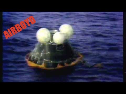 Apollo 13 Re.entry 1970