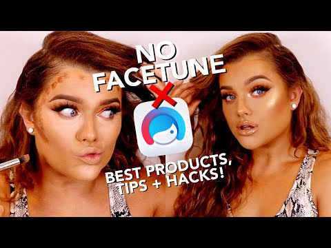 HOW TO LOOK FACETUNED IN REAL LIFE!! MAKE UP TUTORIAL | Rachel Leary thumbnail