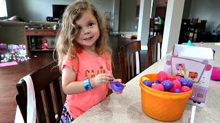 FILLING EASTER EGGS WITH TOYS