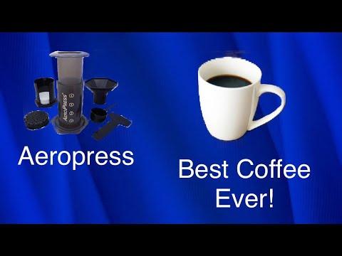 How to make Aeropress Coffee! BEST Coffee!
