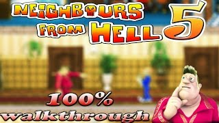 Neighbours From Hell 5 - ALL Seasons [100% walkthrough]