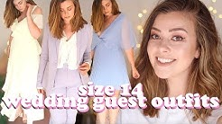 SIZE 14 WEDDING GUEST OUTFIT IDEAS | LUCY WOOD