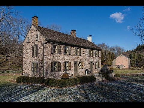 Quintessential Country Estate in Erwinna, Pennsylvania