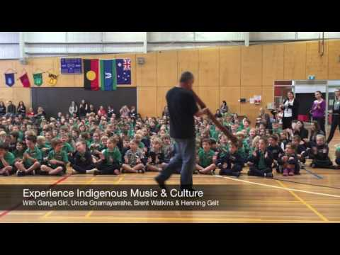 Monty South Primary Experience Indigenous Music & Culture