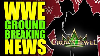 WWE Makes GROUND BREAKING ANNOUNCEMENT! Surprise Appearance at Crown Jewel 2019? Wrestling News