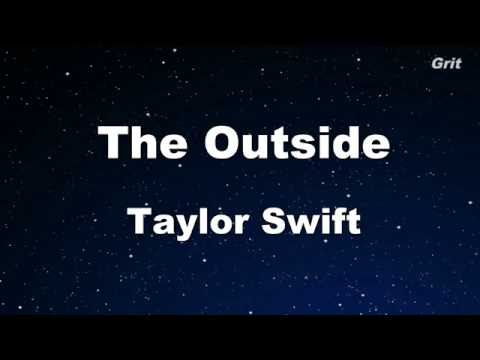 The Outside - Taylor Swift  Karaoke【No Guide Melody】