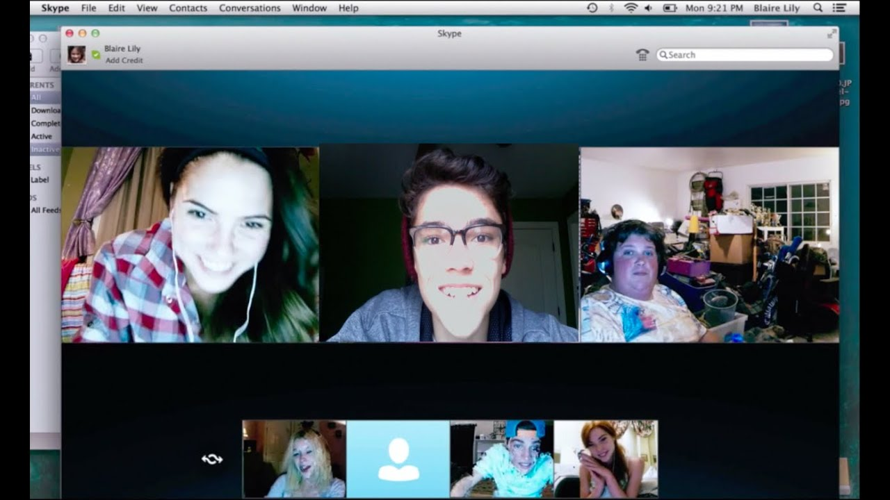 Me In The Unfriended Movie - Youtube-2881