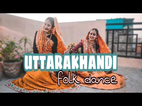 Best Uttarakhand Folk dance  Choreography Divya Mehra  ft Shagun & Versha