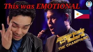 "Marcelito Pomoy Sings ""The Prayer"" With DUAL VOICES! - AGT: The Champions Reaction!"