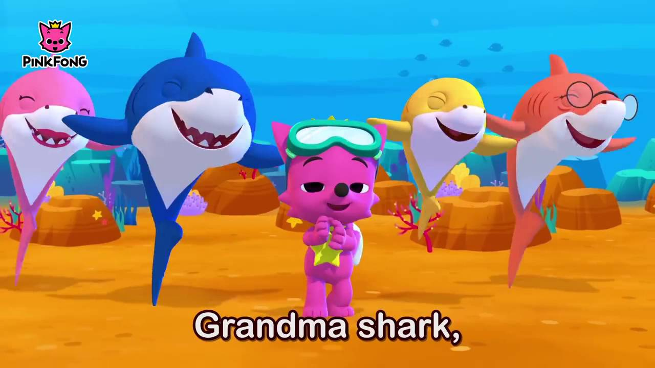 Baby Shark Sing And Dance Animal Songs Pinkfong Songs For