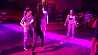 [S-FIRE STUDIO] : BIRTHDAY SALSA SONG for Mr.Quang Anh & Mr.Hieu Hair , Life Bar - Hanoi - Vietnam