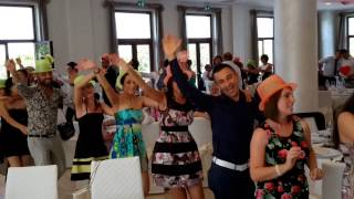 TRENINO CON GADGET DIVERTENTI MUSICA MATRIMONI - VILLA DEL BARONE - ANIMAZIONE FRANCESCO BARATTUCCI