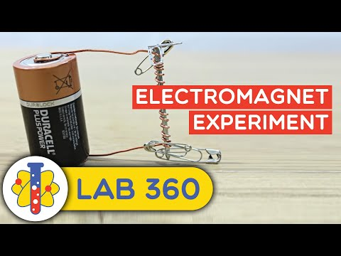 How to Make Electromagnet Experiment
