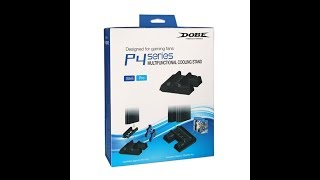 Unboxing Dobe P4 Series Multifunctional Cooling Stand for Playstation 4