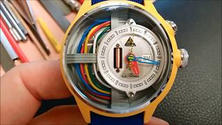 The Cable Z The Electricianz watch montre review