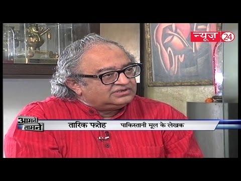 Pakistani Author Tarek Fatah in Aamne Samne 2016    Anurradha Prasad   