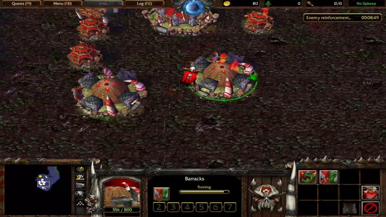 Warcraft Orcs Humans Remake Longplay 2nd Map Hard Mode Youtube