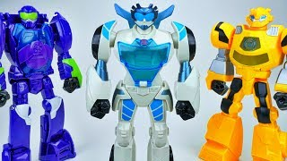 TRANSFORMERS RESCUE BOTS GIANT QUICKSHADOW FULL COLLECTION BLURR BUMBLEBEE HEATWAVE CHASE