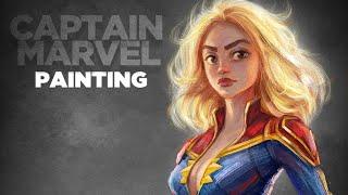 captain marvel Dynamic poster
