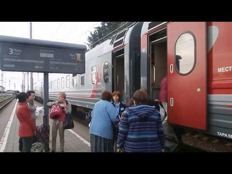 Вокзал, поезд на Н.Новгород, Лазаревское Сочи. Октябрь 2013