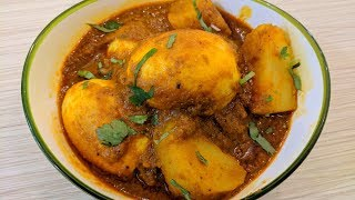 Simple and Tasty Egg Masala   Authentic Bengali Cooking    Dim Kosha    Recipe by Mother